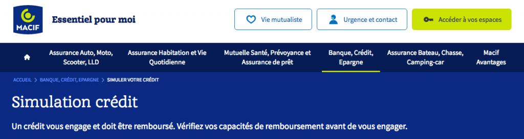 Taux Interet Pret Auto >> Credit Auto Macif Un Credit A La Consommation Destine Pour Qui